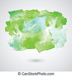 Vector watercolor splash background