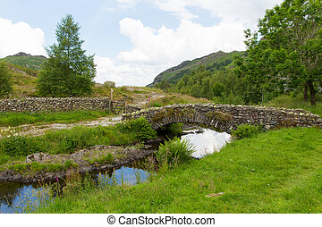 Bridge Watendlath Tarn Lake Distric - Watendlath Tarn Lake...