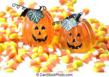 Halloween candy corn . - Halloween candy corn orange...