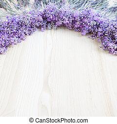 hölzern, buero, Lavendel