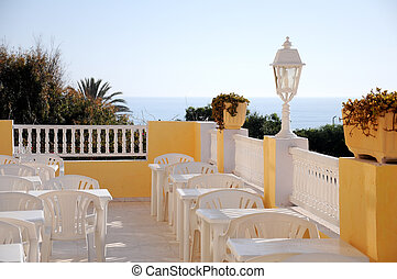 Beautiful Sea View Balcony of a hotel