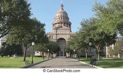Texas State Capitol Building in Austin, TX.