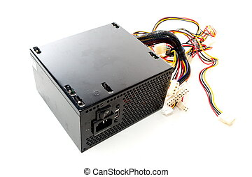 Power Supply - Computer hardware power supply disconnect .