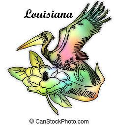 Louisiana state bird