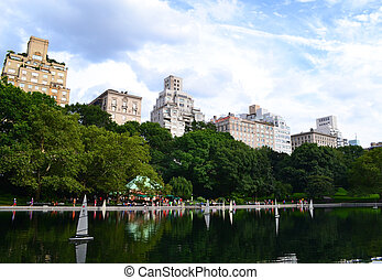 Central Park in Manhattan, New York