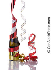 Champagne for New Years eve - news year eve champagne bottle...