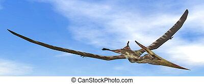 Pteranodon dinosaur - 3D render