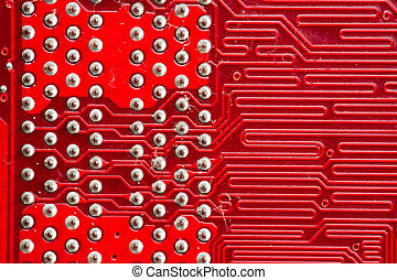 Computer circuitboards - Computer mother board part...