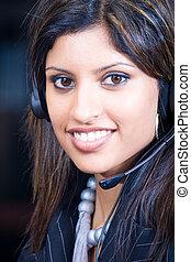 beautiful telesales marketer - a beautiful telesales...