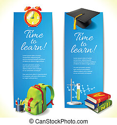Time to learn vertical banners - Realistic time to learn...