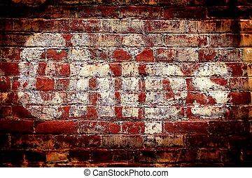 Chips Brick Wall