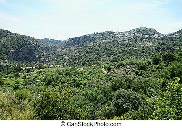 Greece, Crete, mounatin village Axos