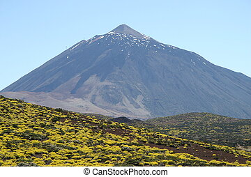 pico del teide on tenerife