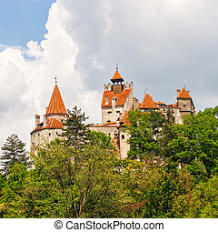 Medieval Castle of Bran also known for the myth of Dracula