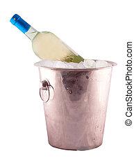 Wine in a bucket
