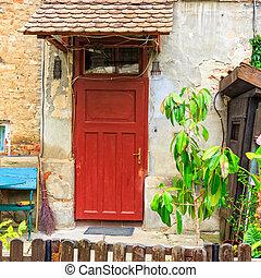 facciata, costruzione, storico
