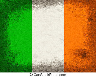 Ireland Copyspace Indicates National Flag And Country - Flag...