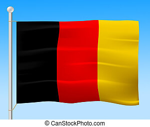 Flag Germany Means Euro National And Country - Germany Flag...