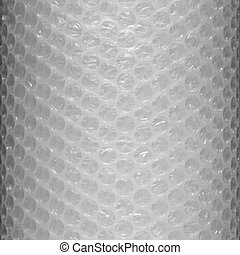 Bubble wrap - Plastic bubble wrap texture background, close...