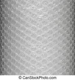 Bubble wrap - Plastic bubble wrap texture background, close...