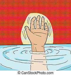Drowning Person