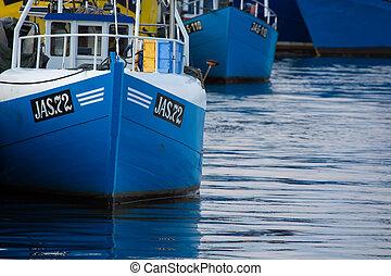 łódki,  jastarnia, stary, Polska, wędkarski