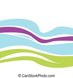 Waves pattern - Elegant abstract texture design VECTOR Easy...