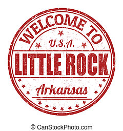Welcome to Little Rock stamp
