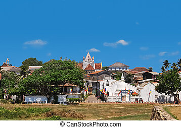 Fortress Galle, Sri Lanka, general view - Dutch Galle Fort...