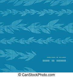 Blue vines stripes textile textured frame corner pattern...
