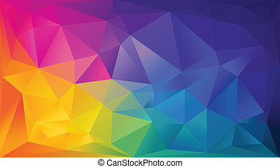 Abstract background - Abstract rainbow background consisting...