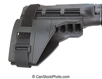 AR-15 handgun stock - Polymer stock that is short enough to...