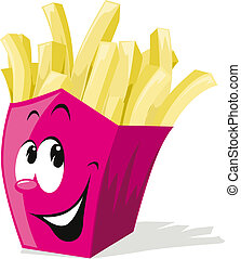 french fries from fast food