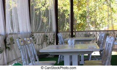beautiful restaurant interior