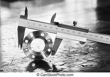 vernier caliper measurement - Close up vernier caliper...