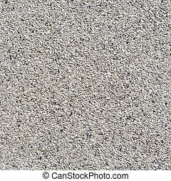 Gray color gravel floor