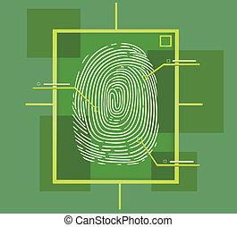 hi tech fingerprint composition
