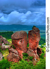rock formation hdr - rock formations - Belogradchishki skali...