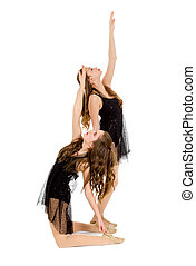 Elegant Lyrical Dance Duo - Pair of Contemporary Teen...