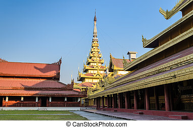 Mandalay Royal Palace, Myanmar