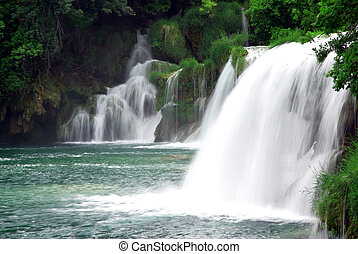 Waterfalls in Croatia