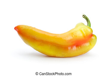 Yellow-red sweet pepper