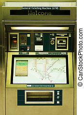 bilhetes, automat
