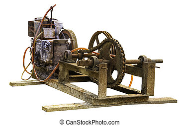Old electric generator - Electric generator is a device that...