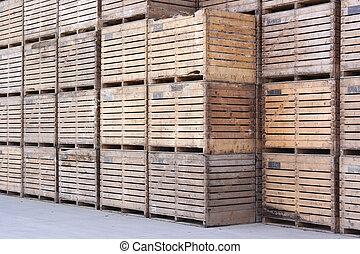 de madera, Cajones,
