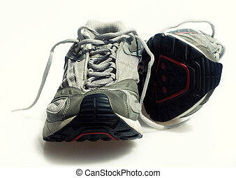 Worn Sneakers Trainers