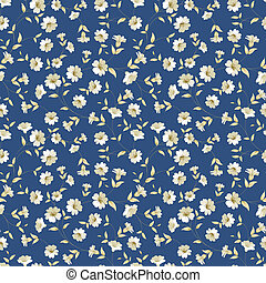 Floral seamless pattern - Seamless vintage floral pattern...