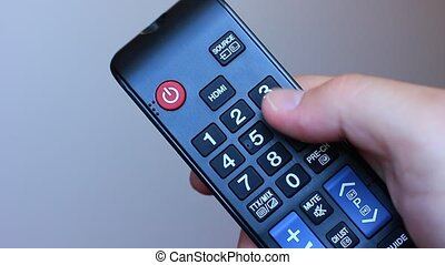 TV Remote Control Surfing television channels