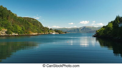 Norwegian Sea, Norway - 4K, Nature Of Norway, Landscapes,...