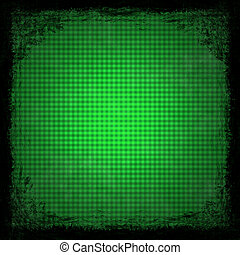 Green grunge background Abstract vintage texture with frame...